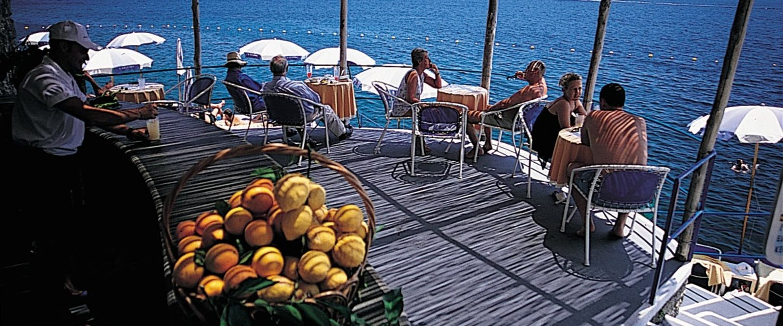 Beach Bar at Hotel Santa Caterina, Amalfi Coast, Italy