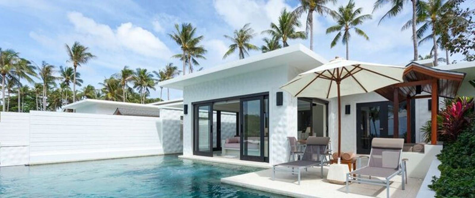 Two bedroom grand pool suite at The Racha