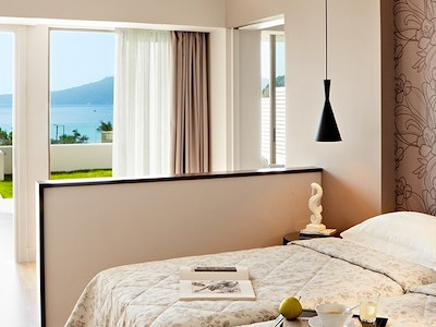 two bedroom suite with private pool - sea view