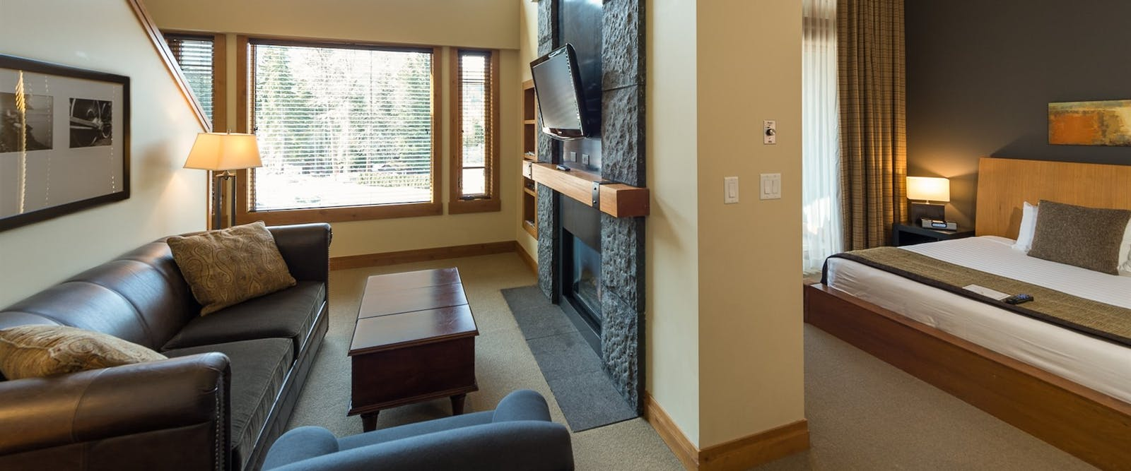 Two bedroom suite at Nita Lake Lodge