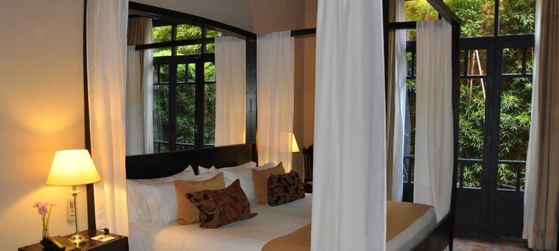 La Escritora bedroom at Legado Mitico