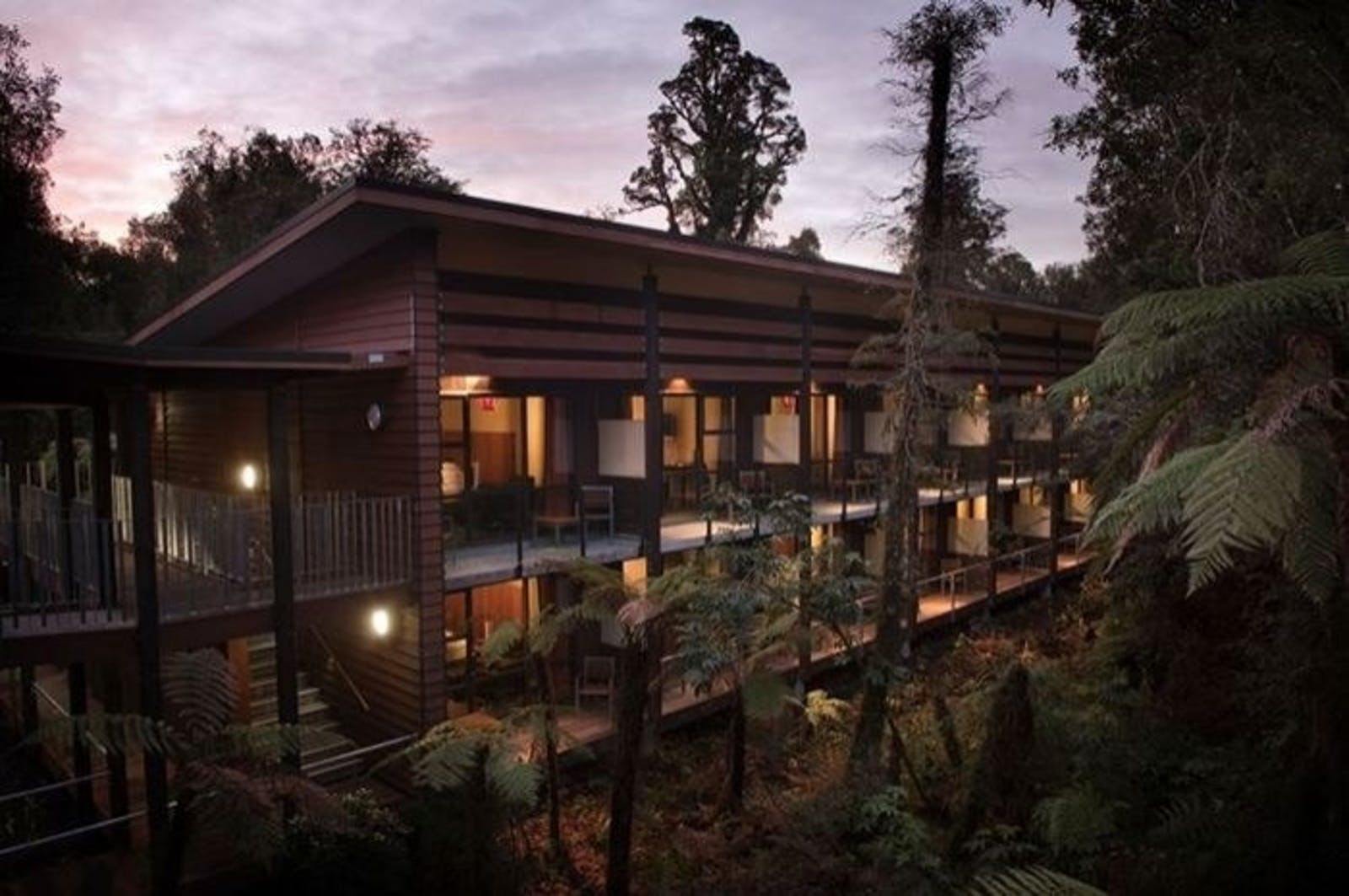 Te Waonui Forest Retreat, South Island