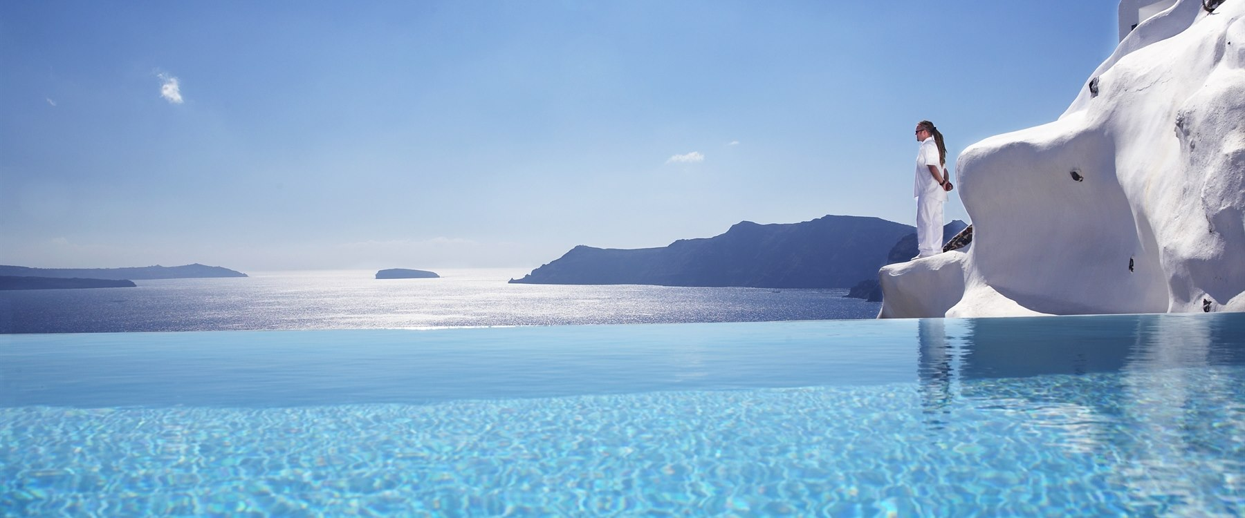 beautiful view at Katikies, Santorini
