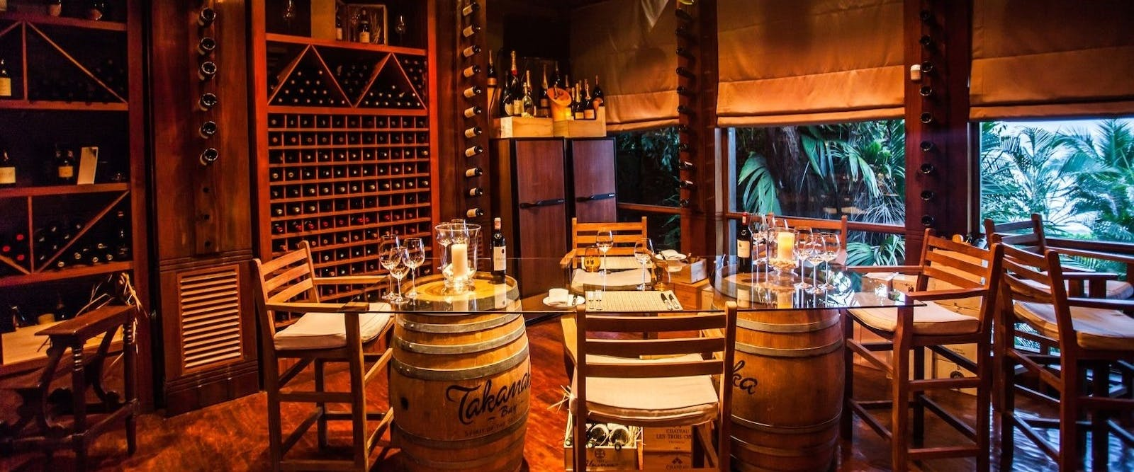 Wine Cellar at Maia Luxury Resort & Spa, Seychelles