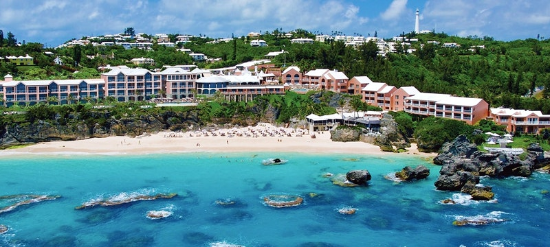 Exterior view of The Reefs Hotel & Club, Bermuda