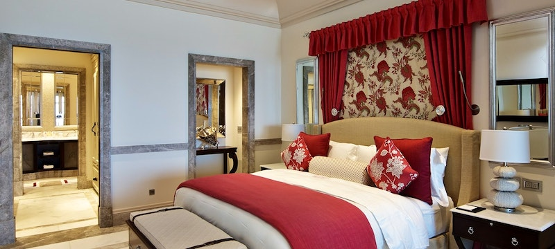 Two bedroom suite at Pink Sands Club