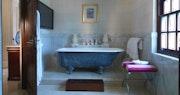 Villa master bedroom at Sandy Lane, Barbados