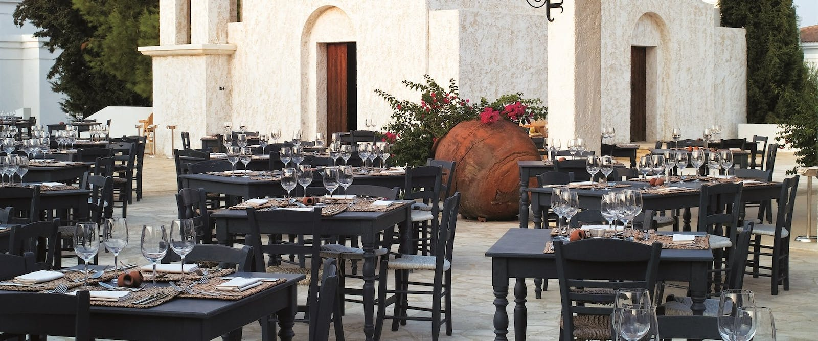Outdoor Dining Area, Anassa, Polis, Cyprus