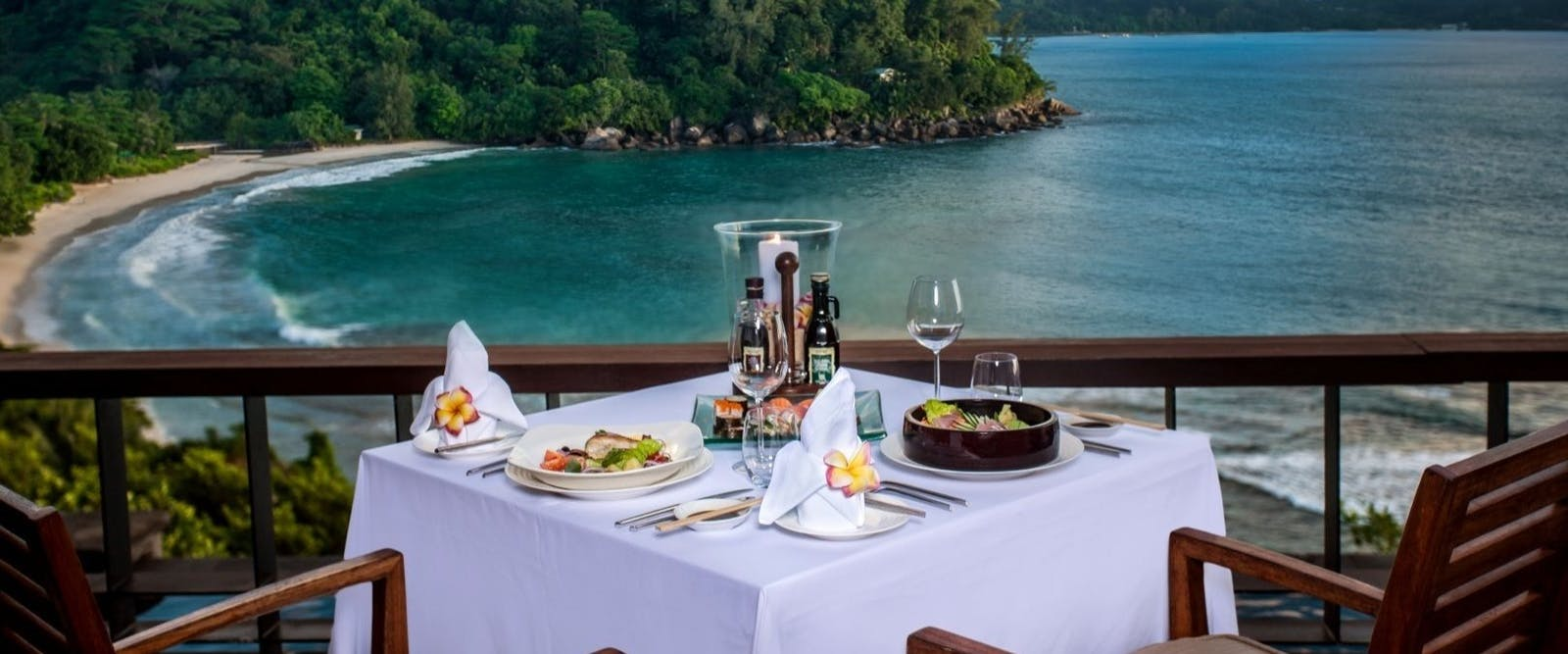 Unique Dining Experience at Maia Luxury Resort & Spa, Seychelles