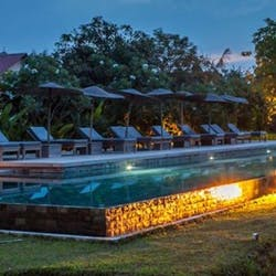 Swimming Pool at Sala Lodges, Siem Reap