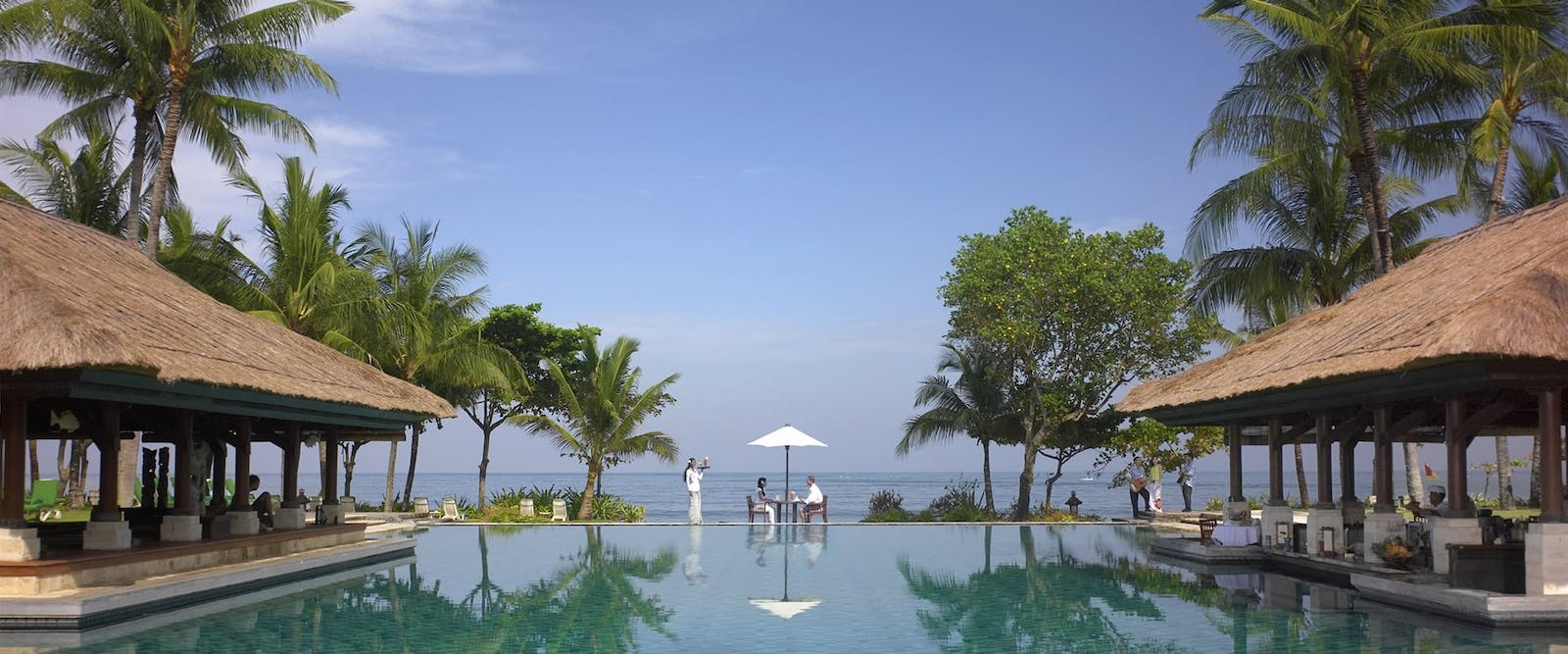 main pool at Intercontinental Bali Resort