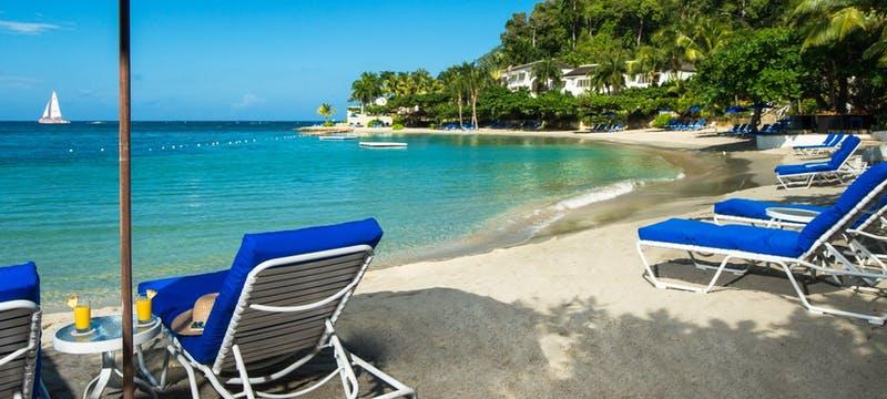Beach area at Round Hill, Jamaica