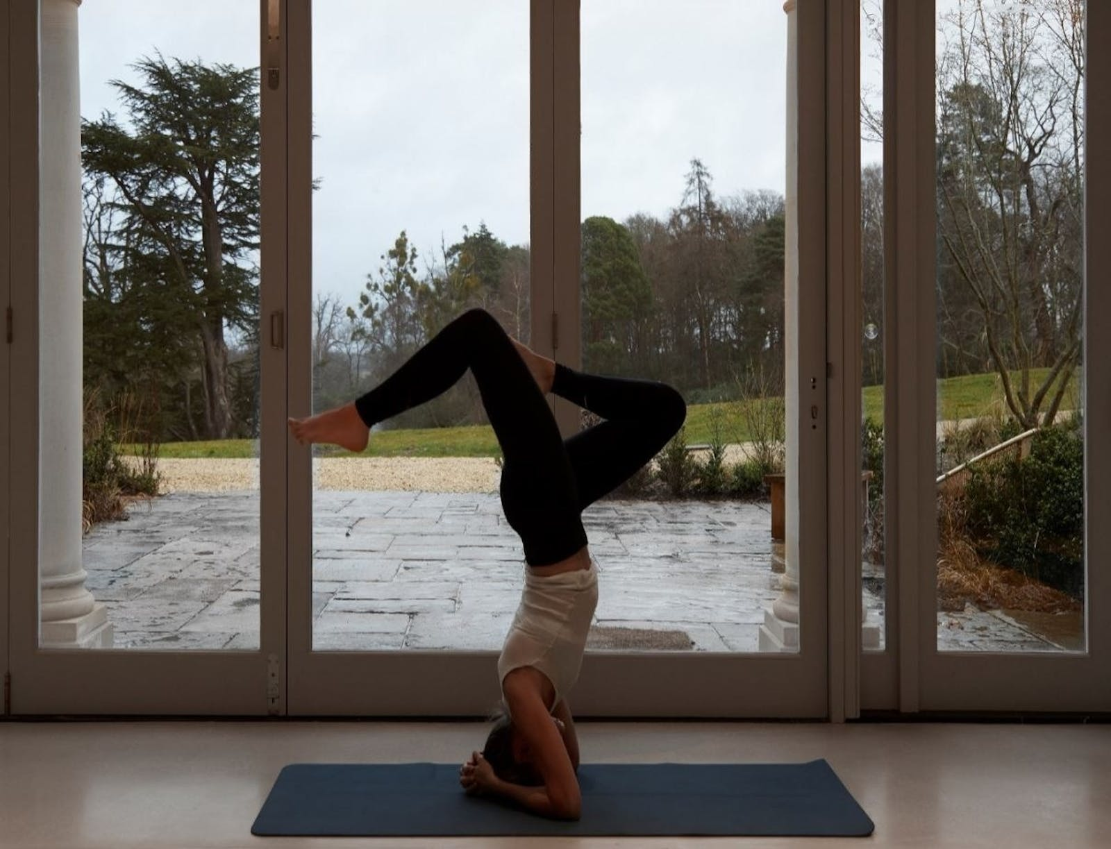 Yoga at Heckfield Place, Hampshire