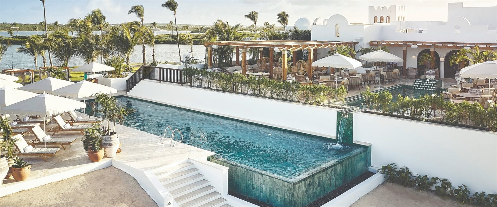 Swimming Pool at Cap Juluca, A Belmond Hotel, Anguilla