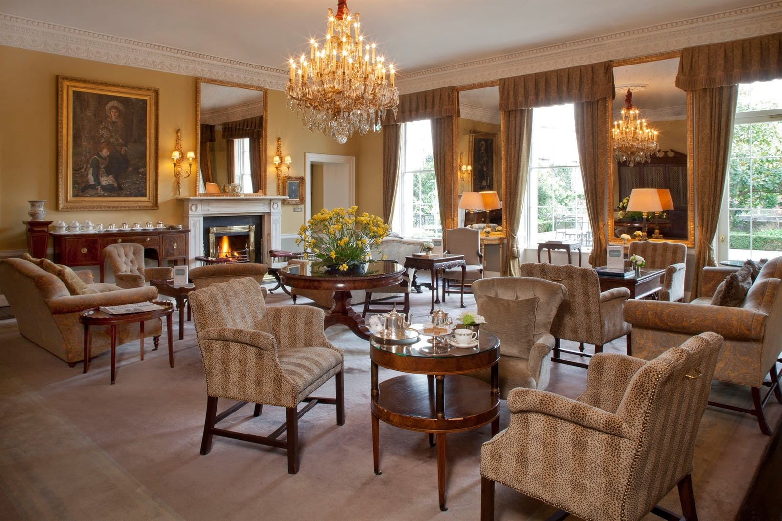 Drawing Room at the Merrion
