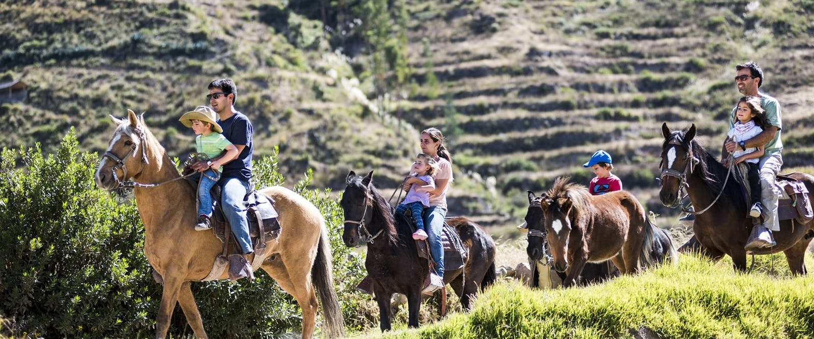 horse riding activity, Colca Lodge