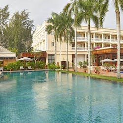 Swimming Pool at Victoria Can Tho Resort, Mekong Delta