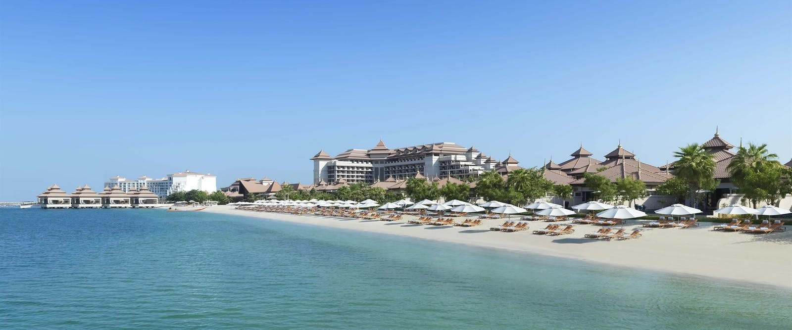 Beach at Anantara Dubai The Palm Resort & Spa