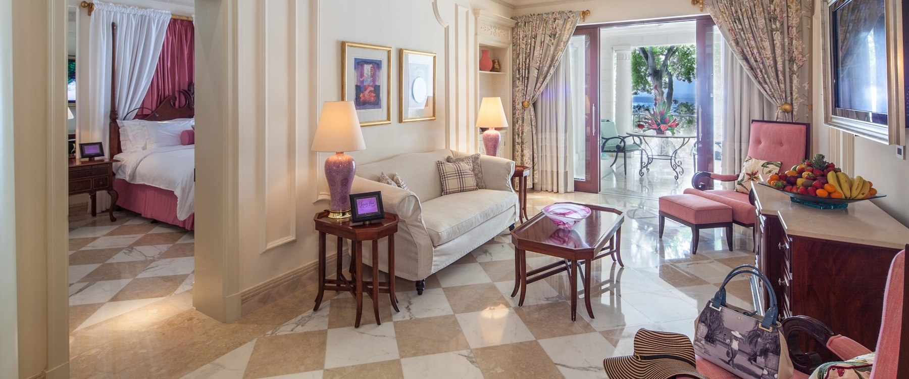 Dolphin Suite at Sandy Lane, Barbados