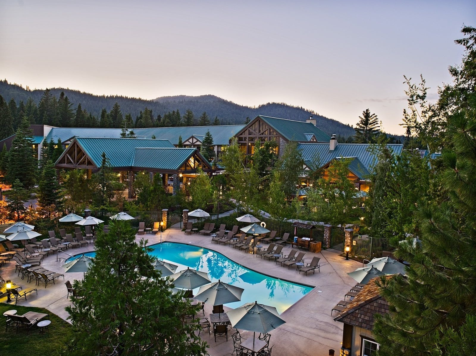 Pool View at Tenaya Lodge, California