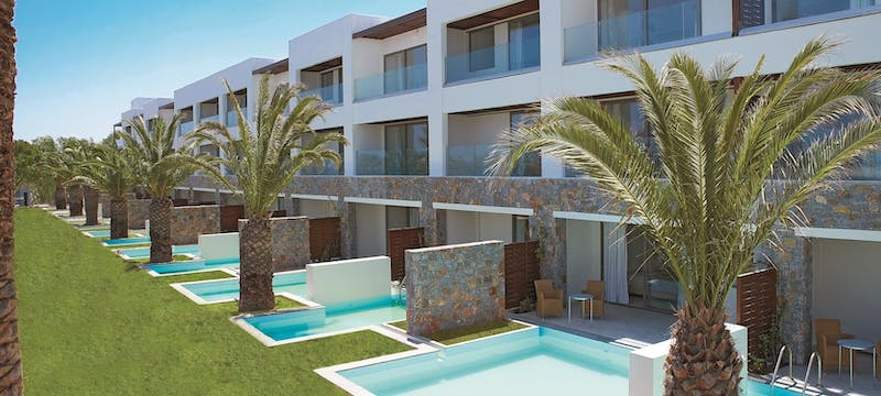 Family suites at Amirandes Grecotel Exclusive Resort, Crete, Greece