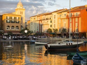 Harbour View Of Hotel At Universal's Loews Portofino Bay Resort