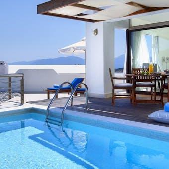 Executive Suite with Private pool at St Nicolas Bay Resort Hotel & Villas, Crete