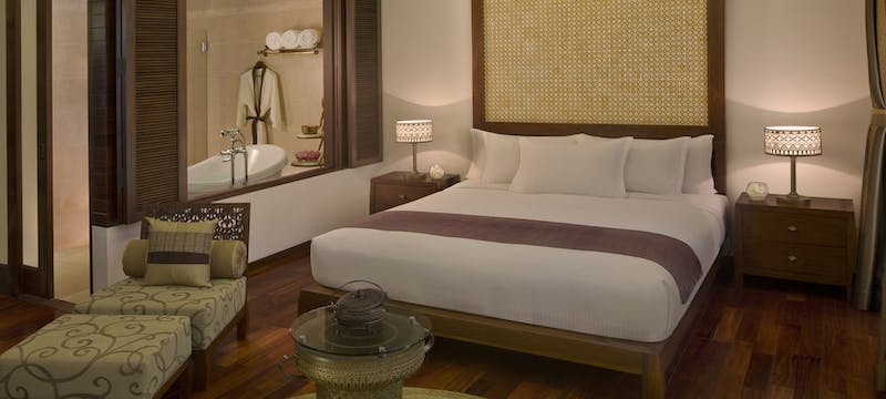 Deluxe room interior at Anantara Angkor Resort, Cambodia