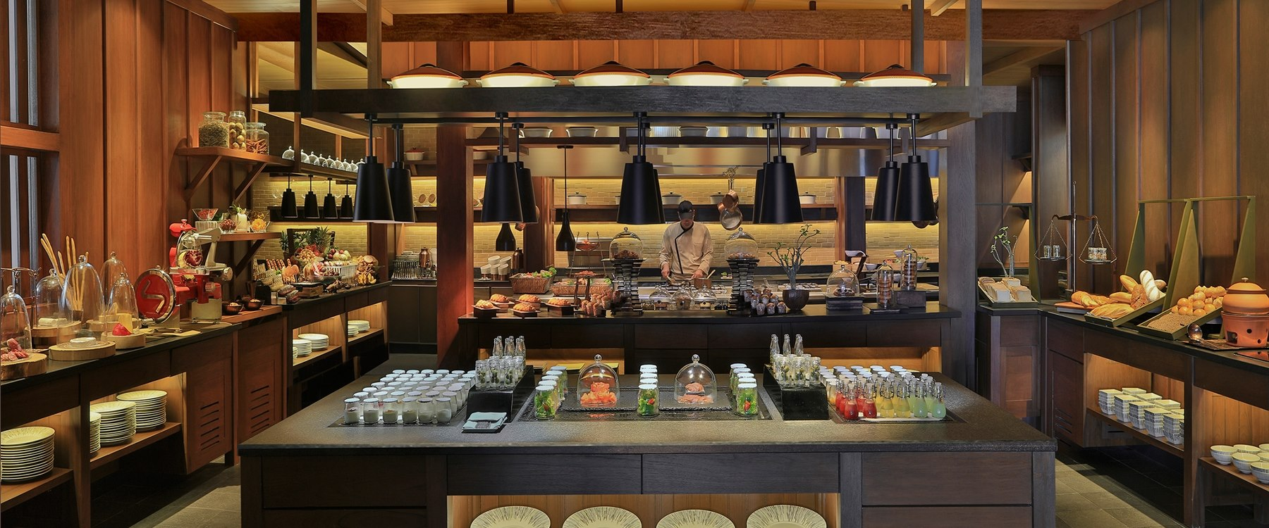 Breakfast at Anantara Layan Phuket Resort, Thailand