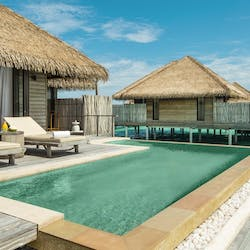Water Villa at COMO Maalifushi, Maldives, Indian Ocean
