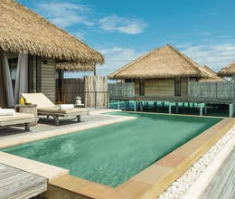 Experience barefoot chic in the Maldives at this tropical resort, home to a private house reef<place>COMO Maalifushi </place><fomo>240</fomo>