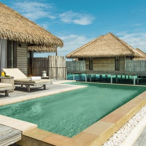 Water villa at COMO Maalifushi, Maldives