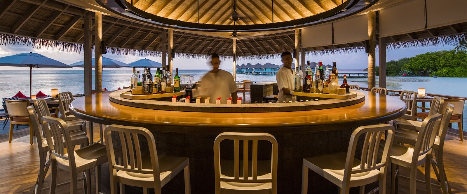 Tai Bar at COMO Maalifushi, Maldives, Indian Ocean