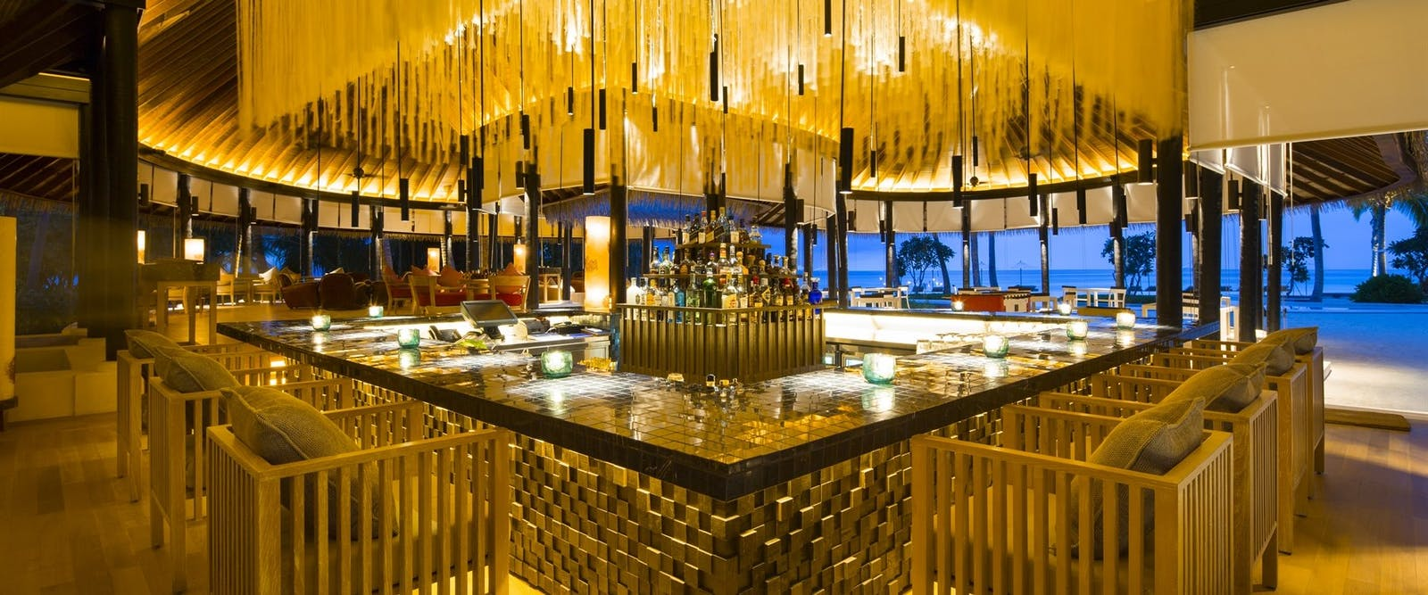 Thila Bar at COMO Maalifushi, Maldives, Indian Ocean