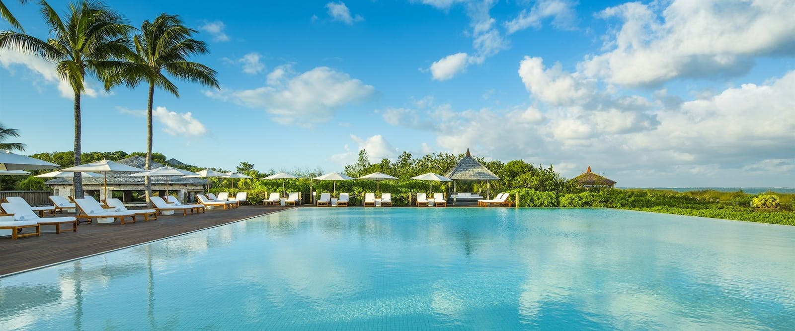 Main swimming pool at COMO Parrot Cay, Turks and Caicos