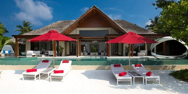 one  two bedroom beach pool pavilion