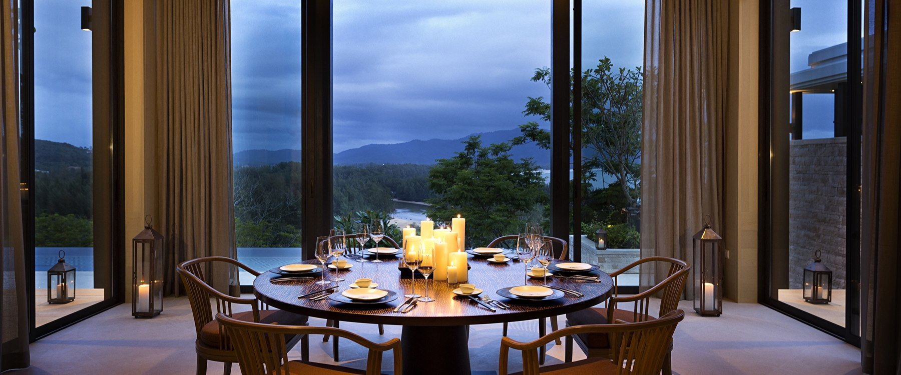 Residences Dining at Anantara Layan Phuket Resort, Thailand