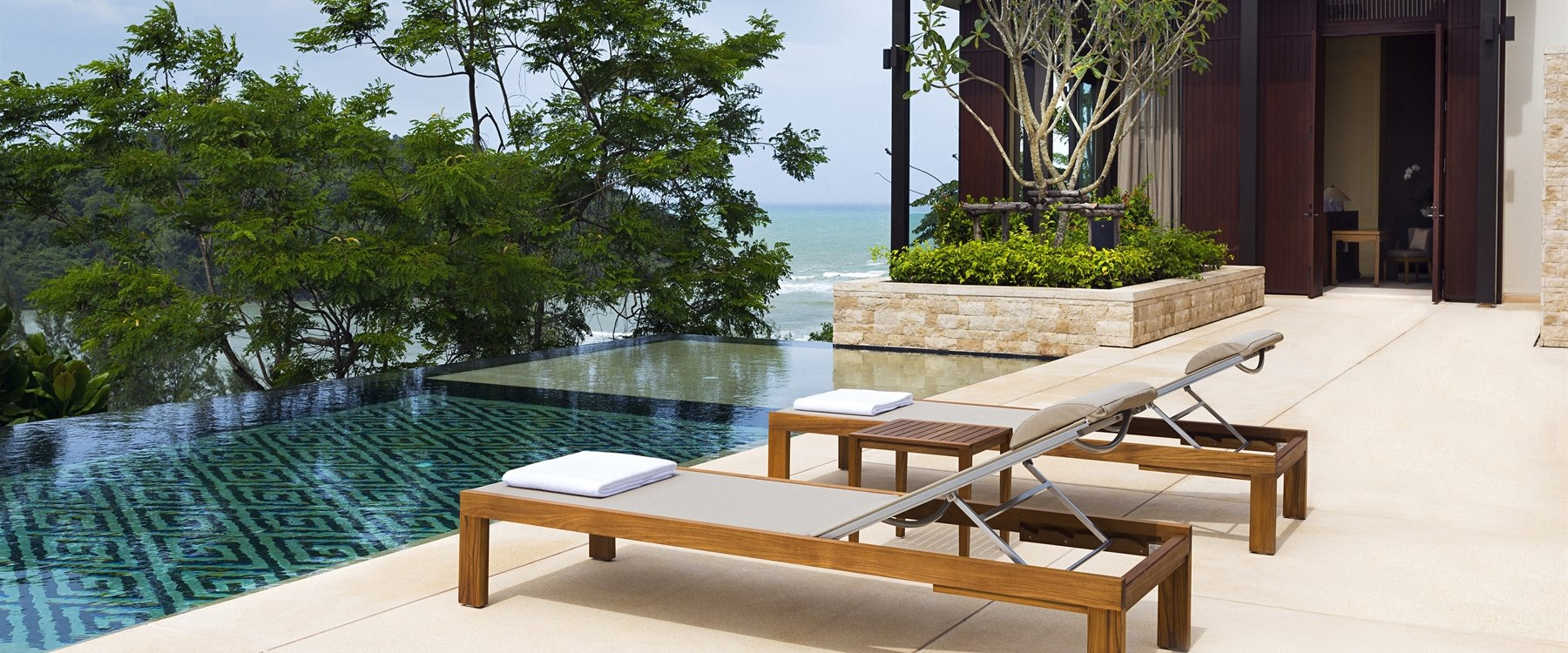 Residences Pool Terrace at Anantara Layan Phuket Resort, Thailand