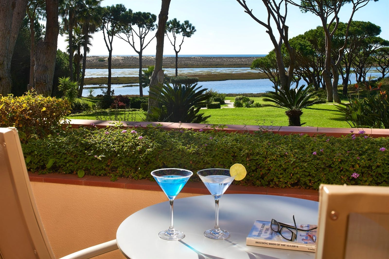 Dining View at Hotel Quinta Do Lago, Algarve, Portugal