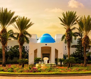Entrance to CuisinArt Golf Resort & Spa, Anguilla
