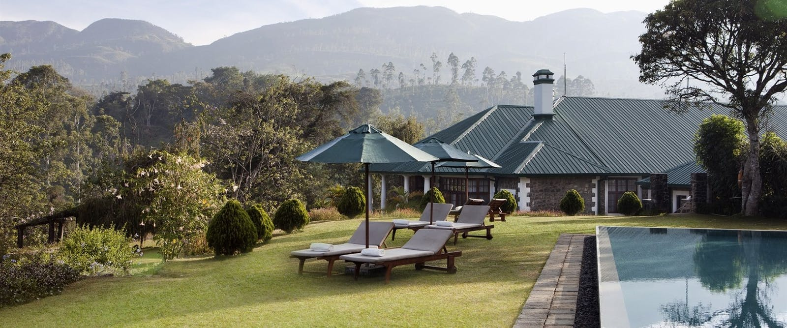 Exterior of Ceylon Tea Trails