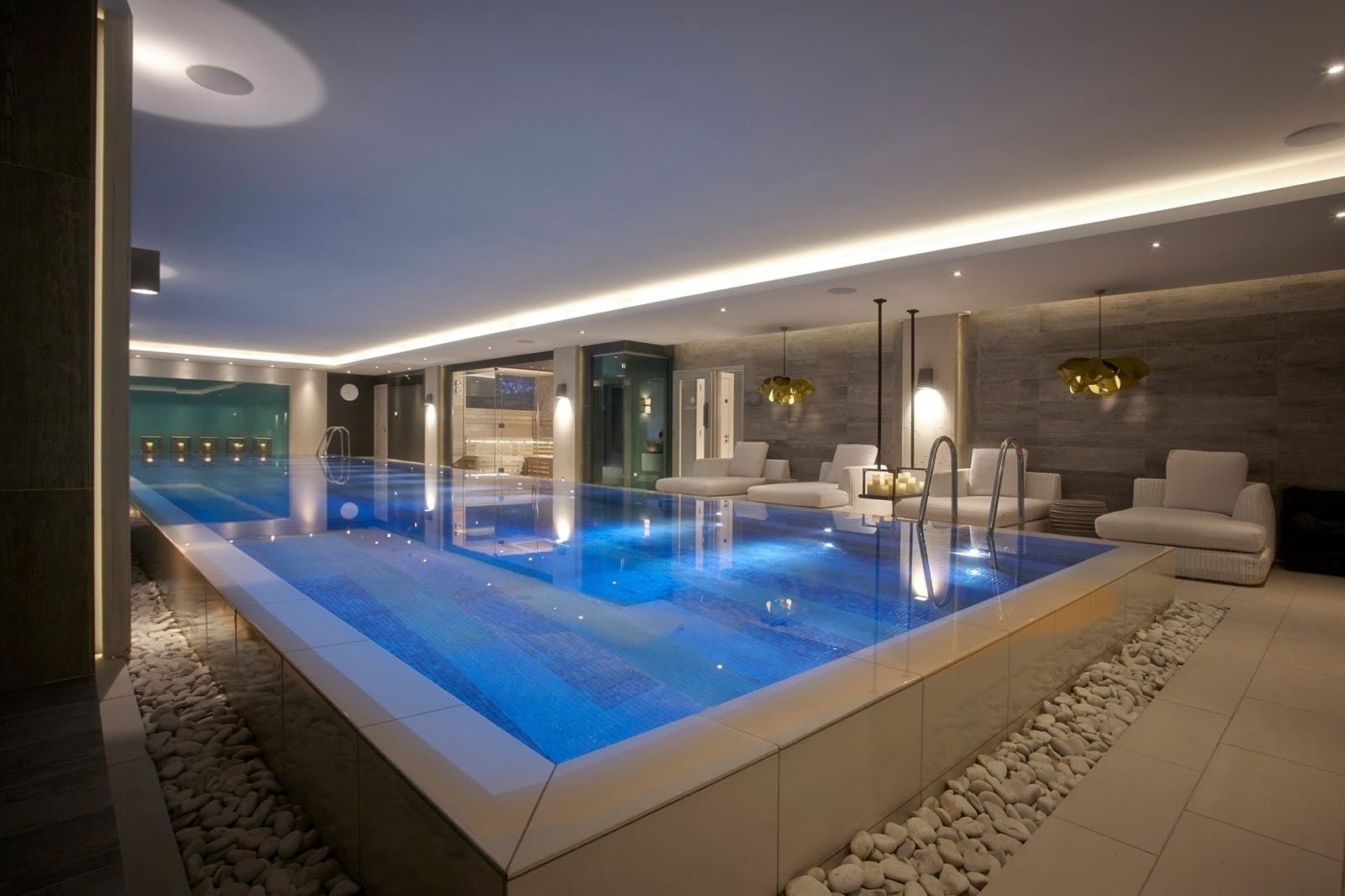 Spa at Foxhill Manor, Farncombe Estate, England, UK