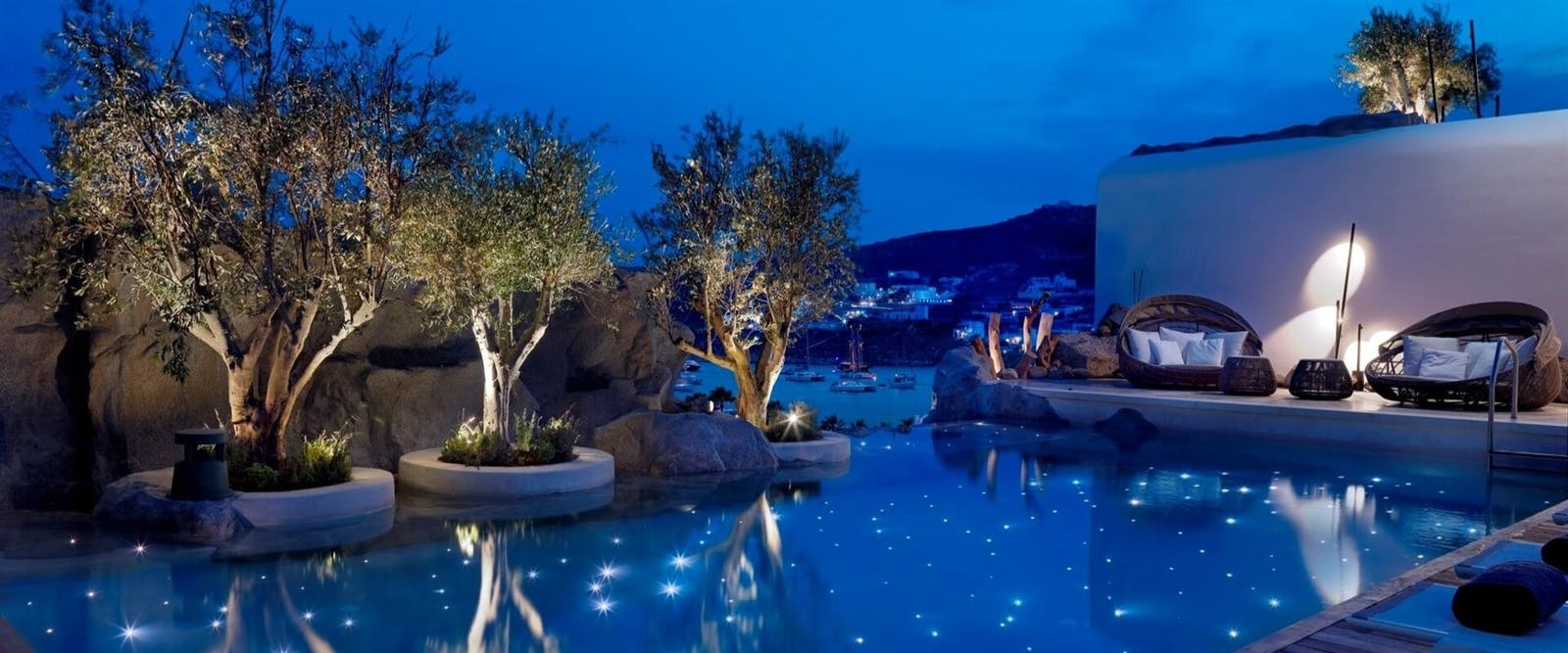 The Pool at Kenshõ Boutique Hotel & Suites, Ornos, Greece