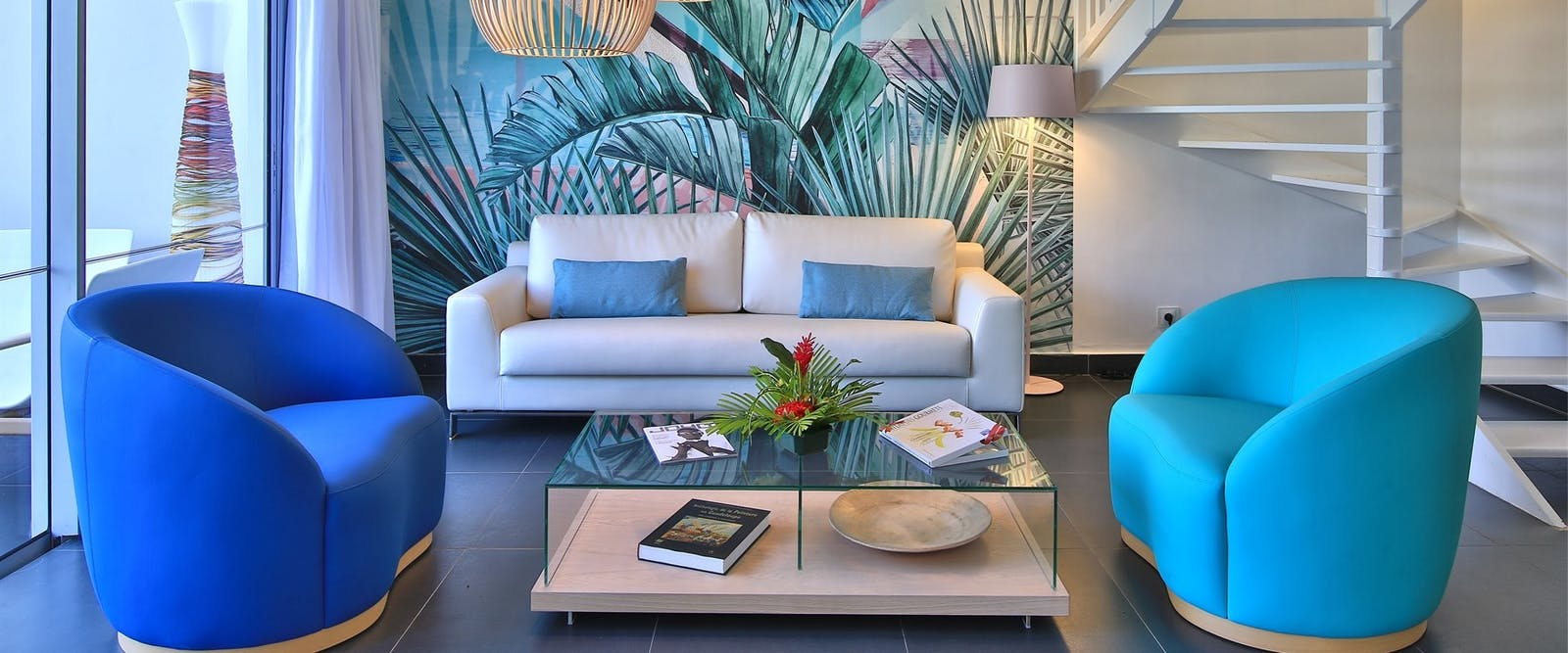 Living Room At Mahogany Hotel Residencia & Spa, Guadeloupe