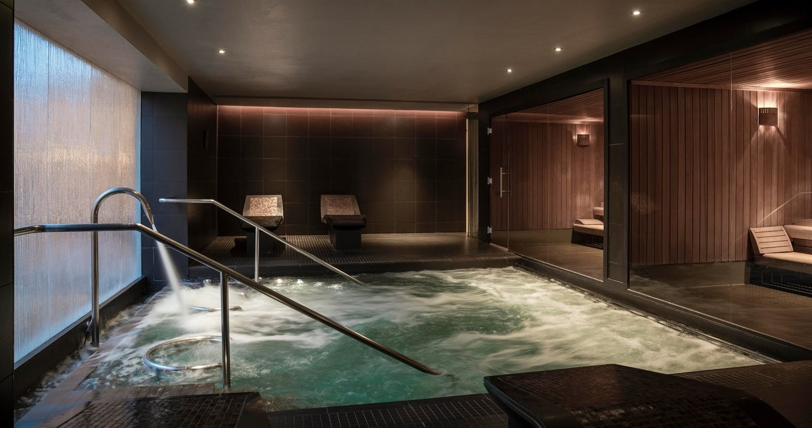 Spa at The Gleneagles Hotel, Scotland, UK