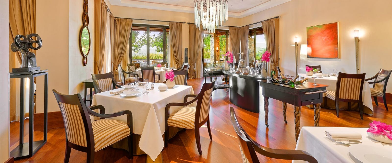 Restaurant Faventia at Terre Blanche Hotel Spa Golf Resort, Provence, France