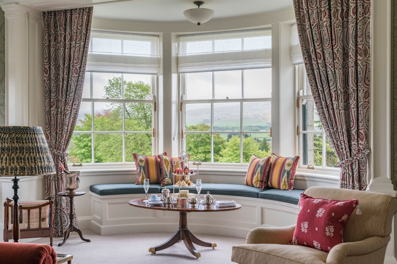 Royal Lochnagar Suite at The Gleneagles Hotel, Scotland, UK