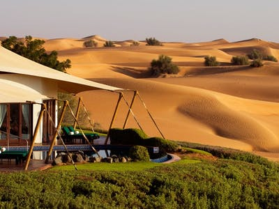 Is this the most luxurious oasis in the world?