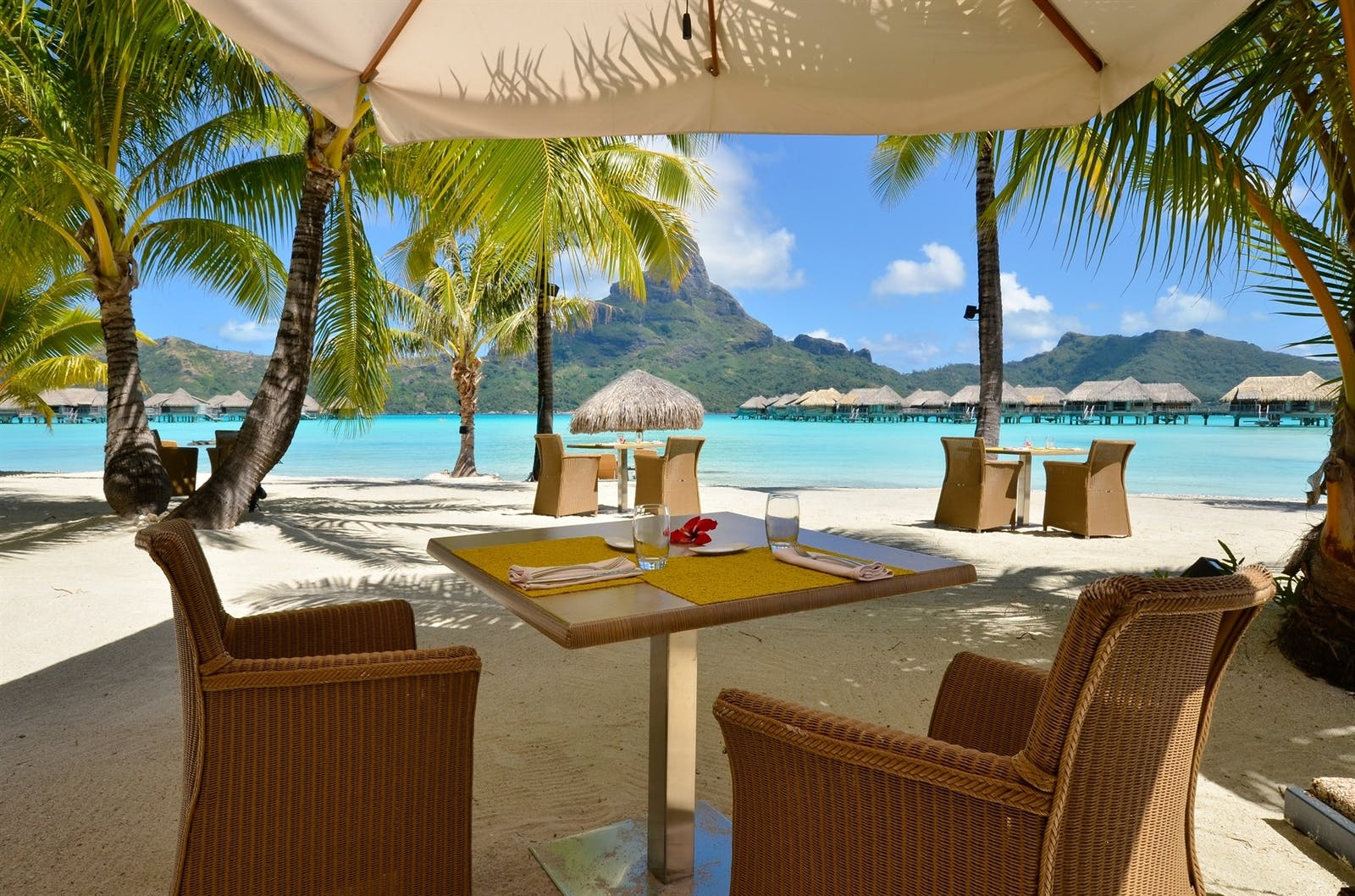 Dining Area at InterContinental Bora Bora Resort & Thalasso Spa, French Polynesia