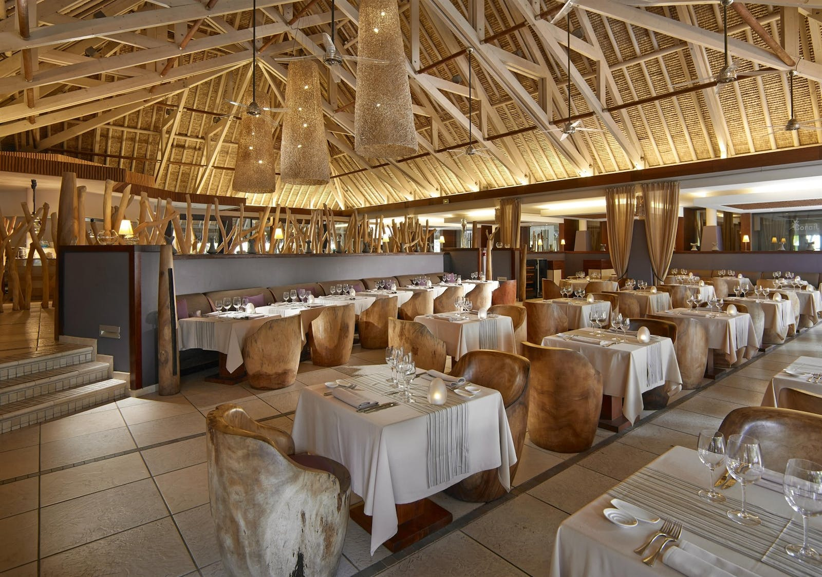 Reef Restaurant at InterContinental Bora Bora Resort & Thalasso Spa, French Polynesia